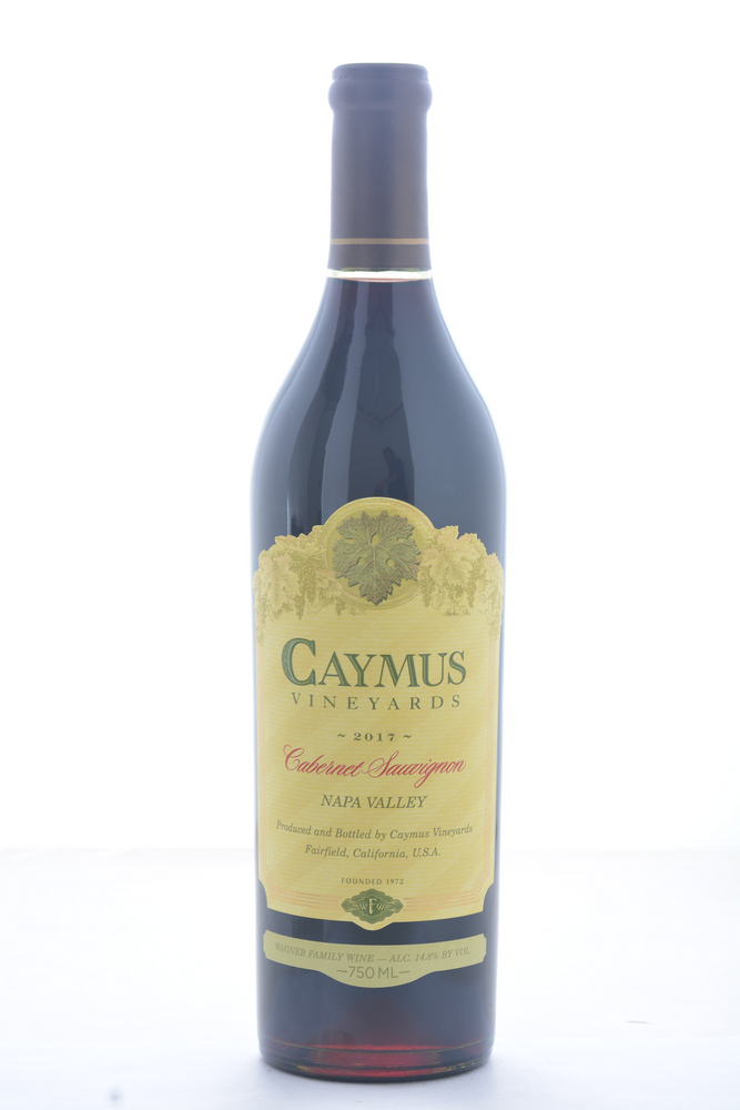 Caymus Cabernet Sauvignon 2017 - 750ML - Wine on Sale