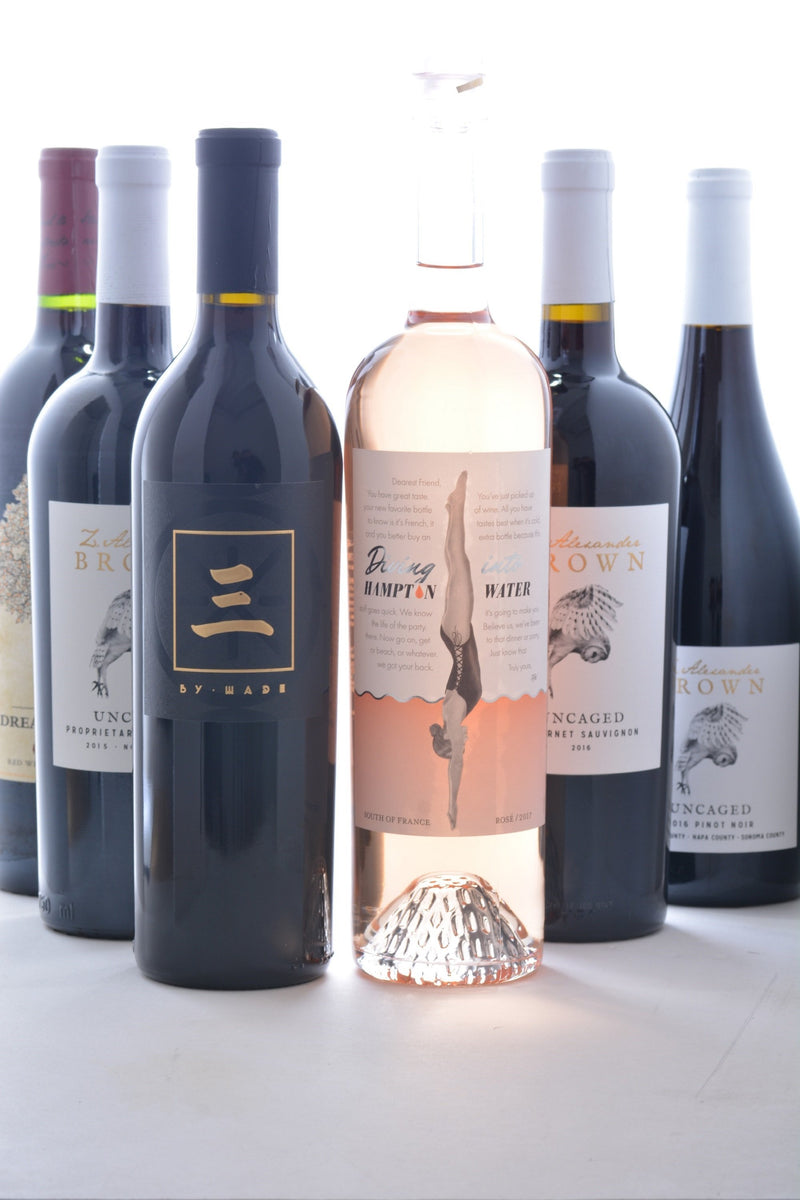 Groupon Celebrity Wine Collection - 6 Pack - Zac Brown Band, Dave Matthews Band, Dwyane Wade, Bon Jovi - Wine on Sale