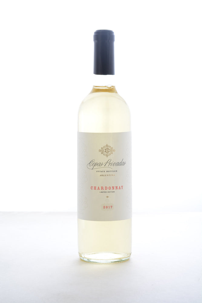 Cepas Privadas Chardonnay 2017 - 750 ML - Wine on Sale