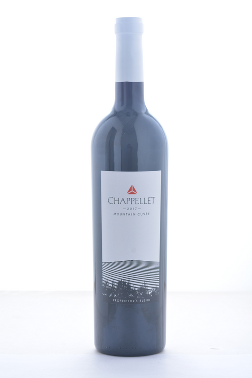 Chappellet Mountain Cuvee Bordeaux Blend 2017 - 750 ML - Wine on Sale