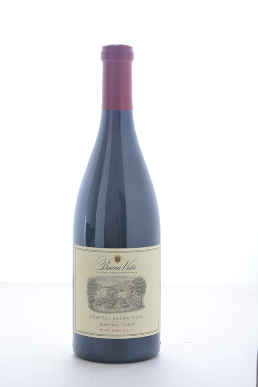 Chateau Buena Vista Sonoma Coast Pinot Noir 2017 - 750 ML - Wine on Sale