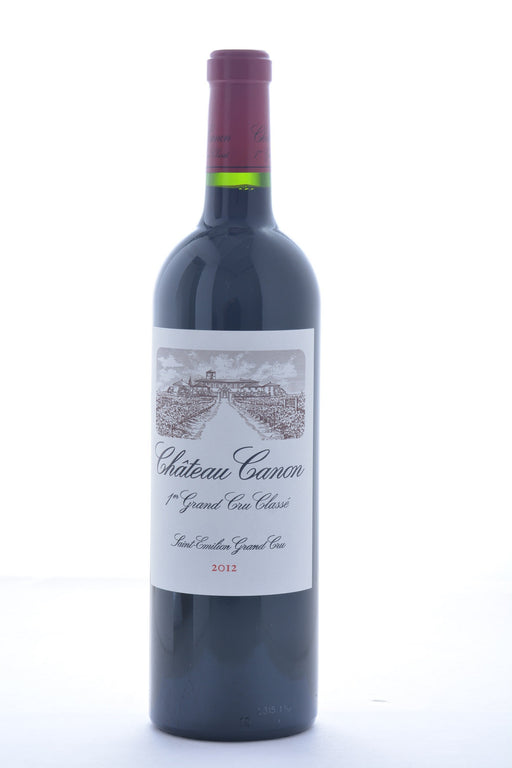 Chateau Canon Saint-Emilion Grand Cru 2012 - 750 ML - Wine on Sale