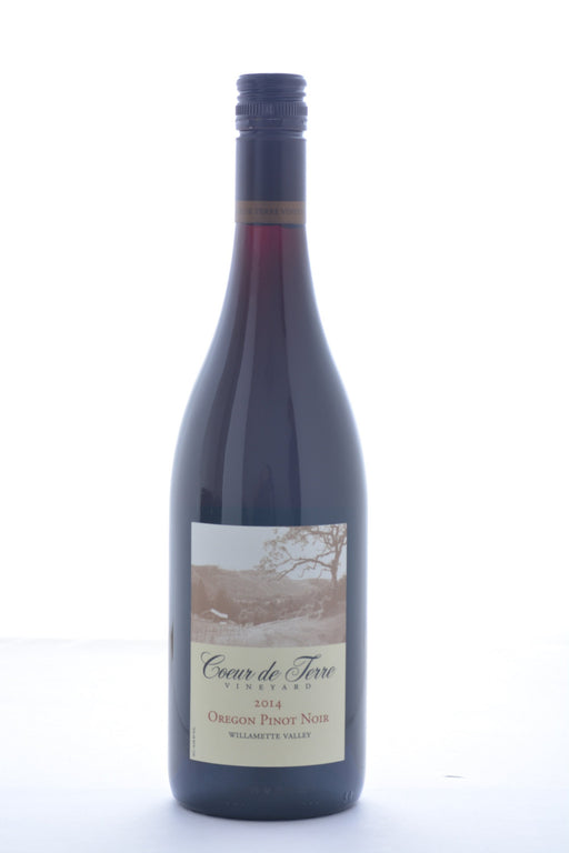 Coeur de Terre Vineyard Oregon Pinot Noir 2014 - 750 ML - Wine on Sale