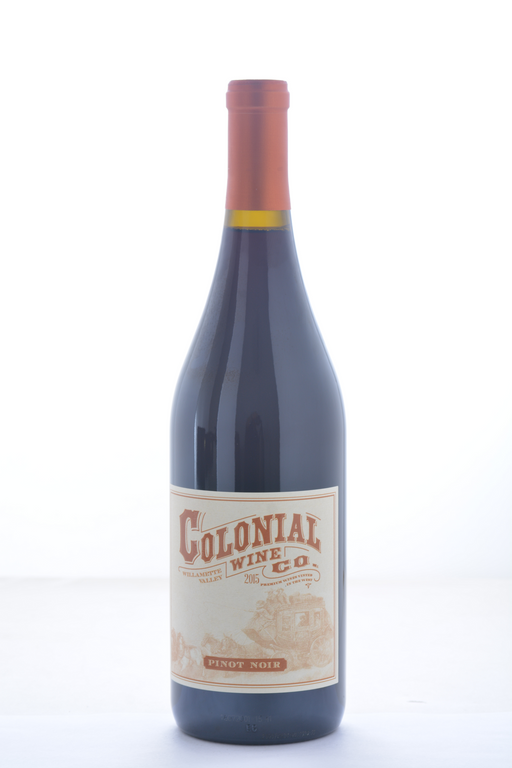 Colonial Wine Co. Pinot Noir Willamette Valley 2015 - 750 ML - Wine on Sale