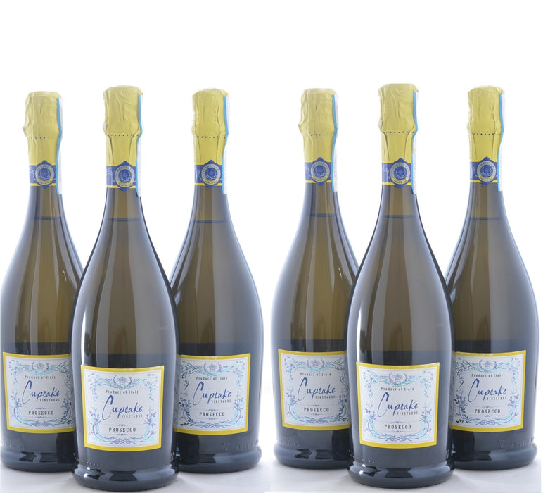 Groupon Cupcake Prosecco - 6 Pack - Wine on Sale