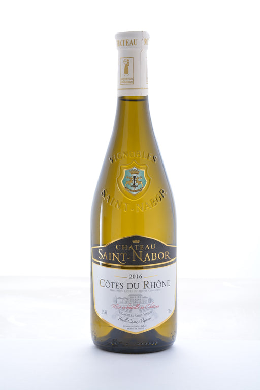 Chateau Saint Nabor Cotes Du Rhone White Blend 2017 - 750 ML - Wine on Sale