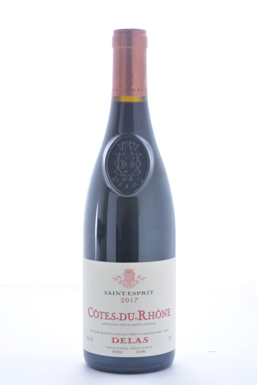 Delas Cotes du Rhone Saint Esprit 2017 - 750 ML - Wine on Sale