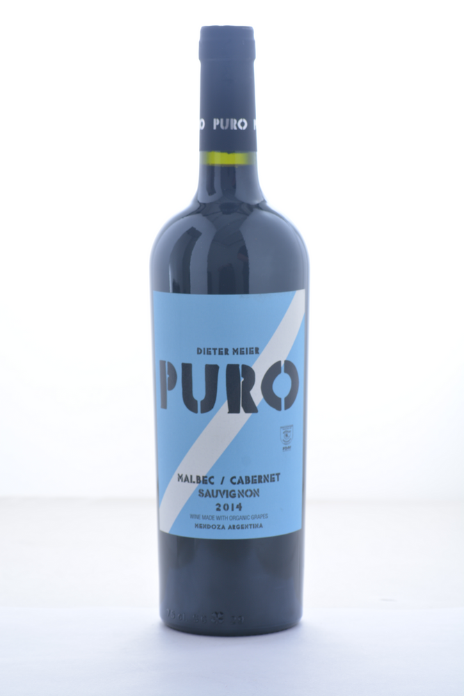 Dieter Meier Puro Malbec Cabernet Sauvignon 2014 - 750 ML - Wine on Sale