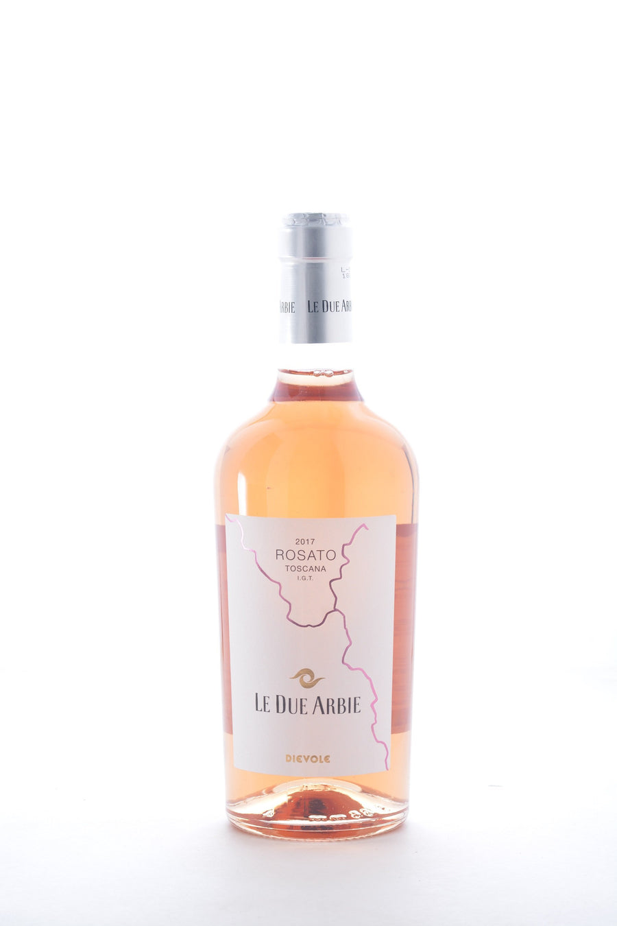 Dievole Rosato Le Due Arbie 2017 - 750 ML - Wine on Sale