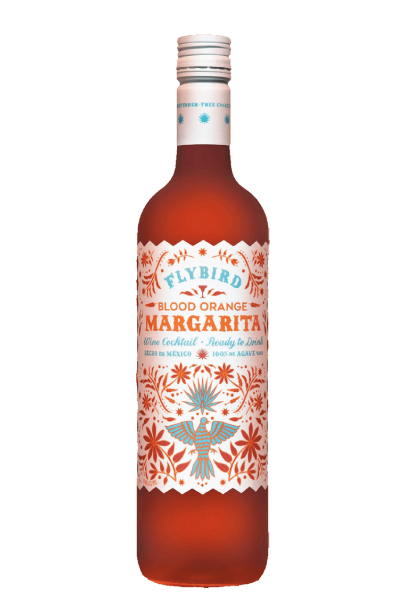 Flybird Blood Orange Margarita Agave Wine Cocktail - 750 ML