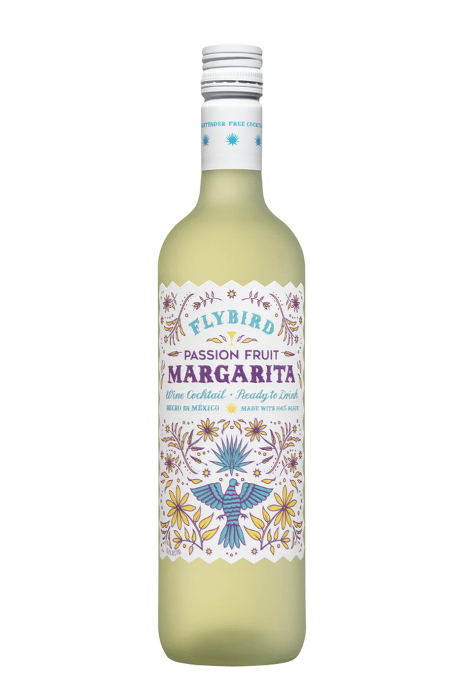 Flybird Passion Fruit Margarita Agave Wine Cocktail - 750 ML