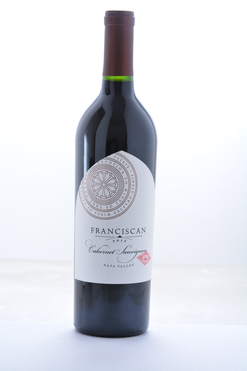 Franciscan Estate Cabernet Sauvignon 2015 - 750 ML - Wine on Sale