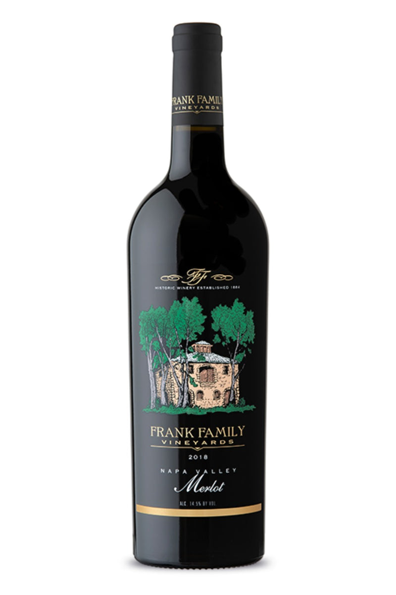 Frank Family Vineyards Merlot 2018 - 750 ML