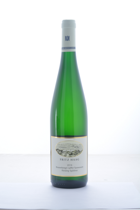 Fritz Haag Brauneberger Juffer Sonnenuhr Spatlese Riesling 2014 - 750 ML - Wine on Sale