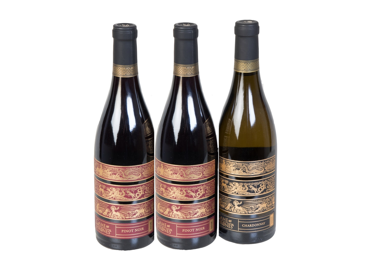 Groupon Game of Thrones Pinot and Chardonnay Wine - 3 Pack - Wine on Sale