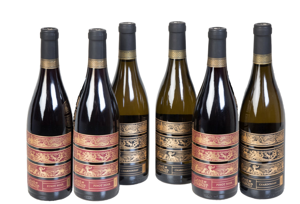 Groupon Game of Thrones Pinot and Chardonnay Wine - 6 Pack - Wine on Sale