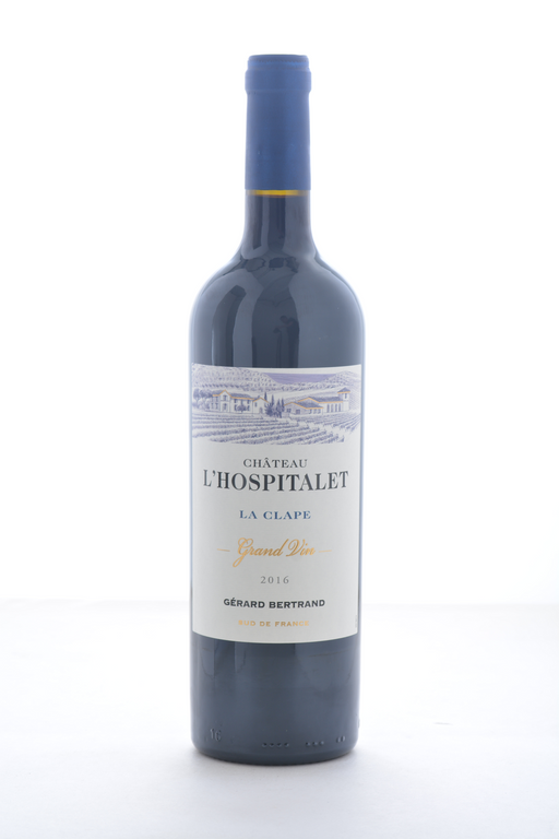 Gerard Bertrand Chateau L'Hospitalet Grand Vin Rouge 2016 - 750 ML - Wine on Sale