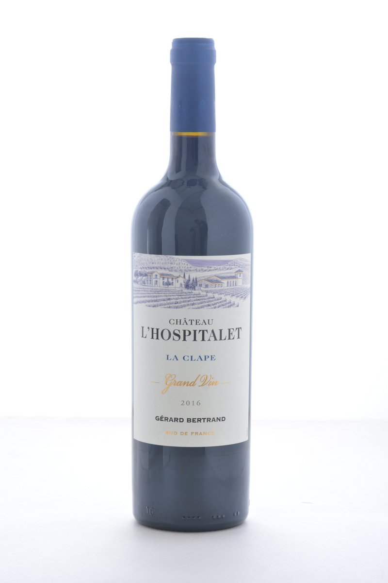 Gerard Bertrand Chateau L'Hospitalet Grand Vin Rouge 2017 - 750 ML - Wine on Sale
