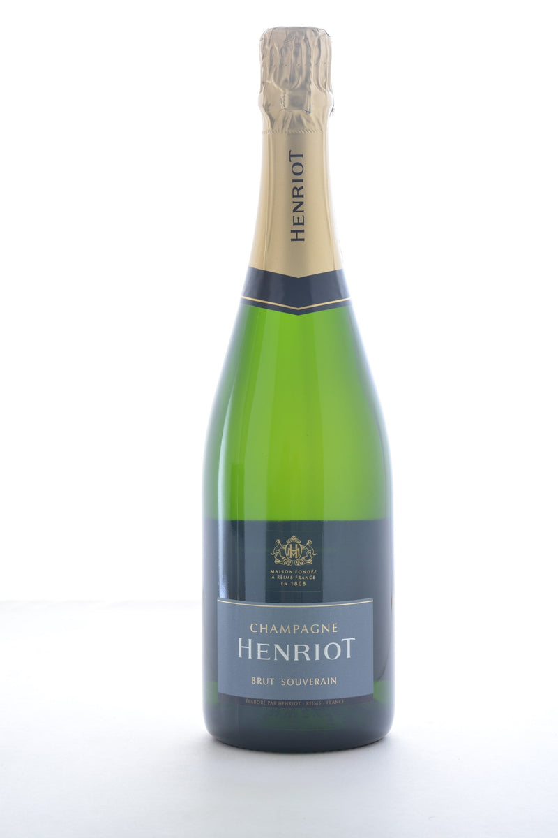 Henriot Brut Souverain Champagne - 750 ML - Wine on Sale