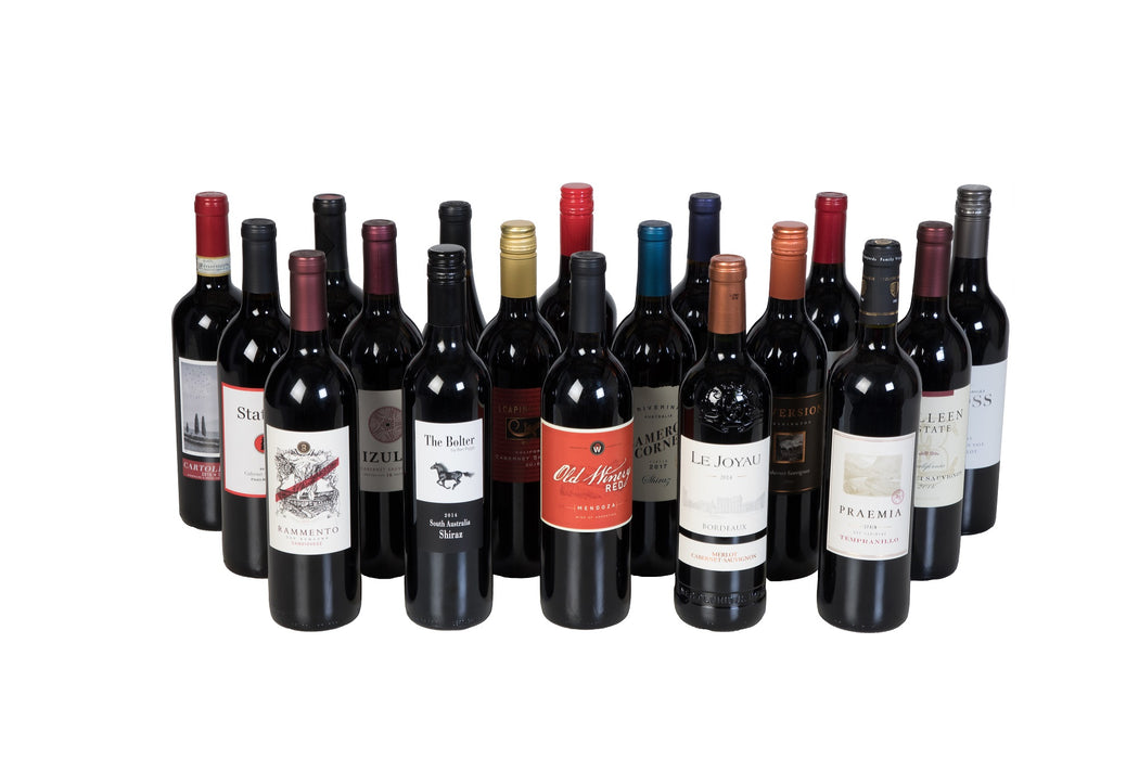 World Wine Tour Collection - 18 Bottle Case of Wine - 750ml - Free Shipping - Wine on Sale
