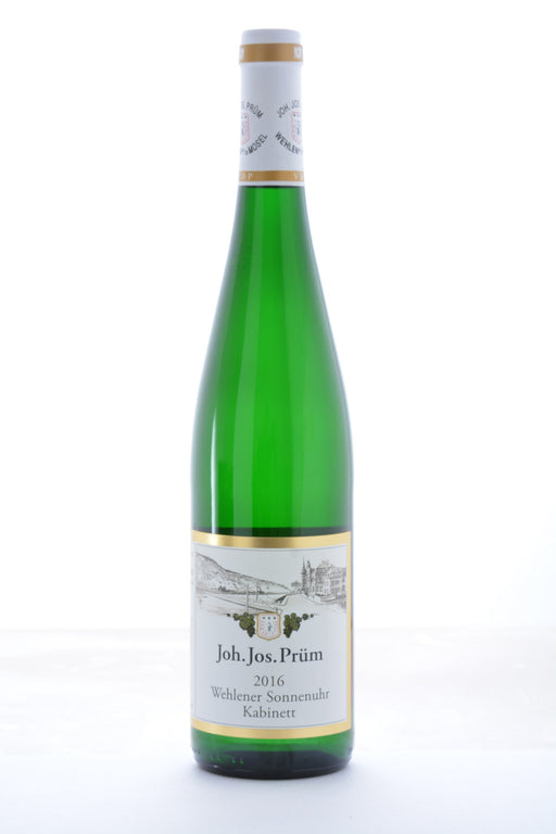 J.J. Prum Wehlener Sonnenuhr Kabinett Riesling 2016 - 750 ML - Wine on Sale