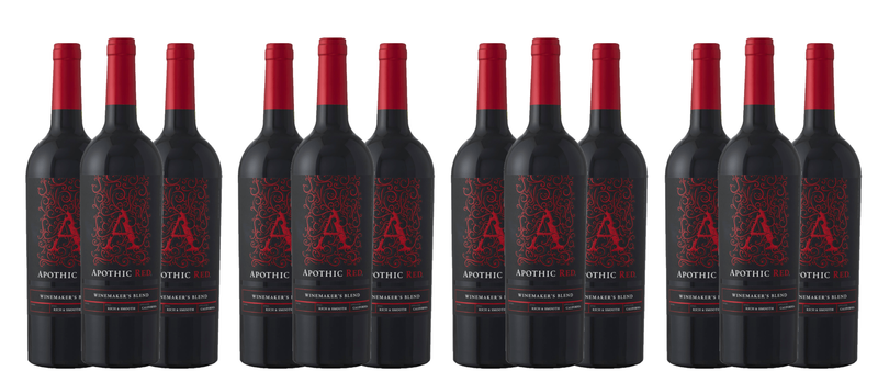 Groupon Apothic Red Blend Wine - 18 Pack