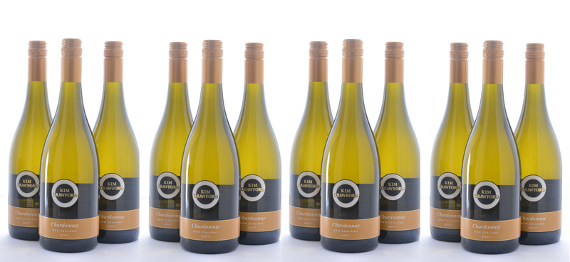 Groupon Kim Crawford Chardonnay Wine - 12 Pack - Wine on Sale