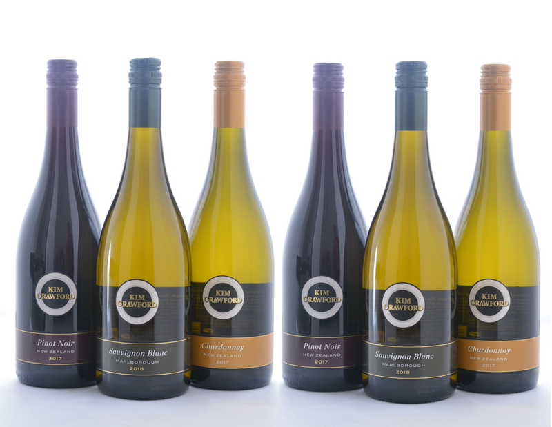 Groupon Kim Crawford Variety Wine Sampler - 6 Pack - Wine on Sale