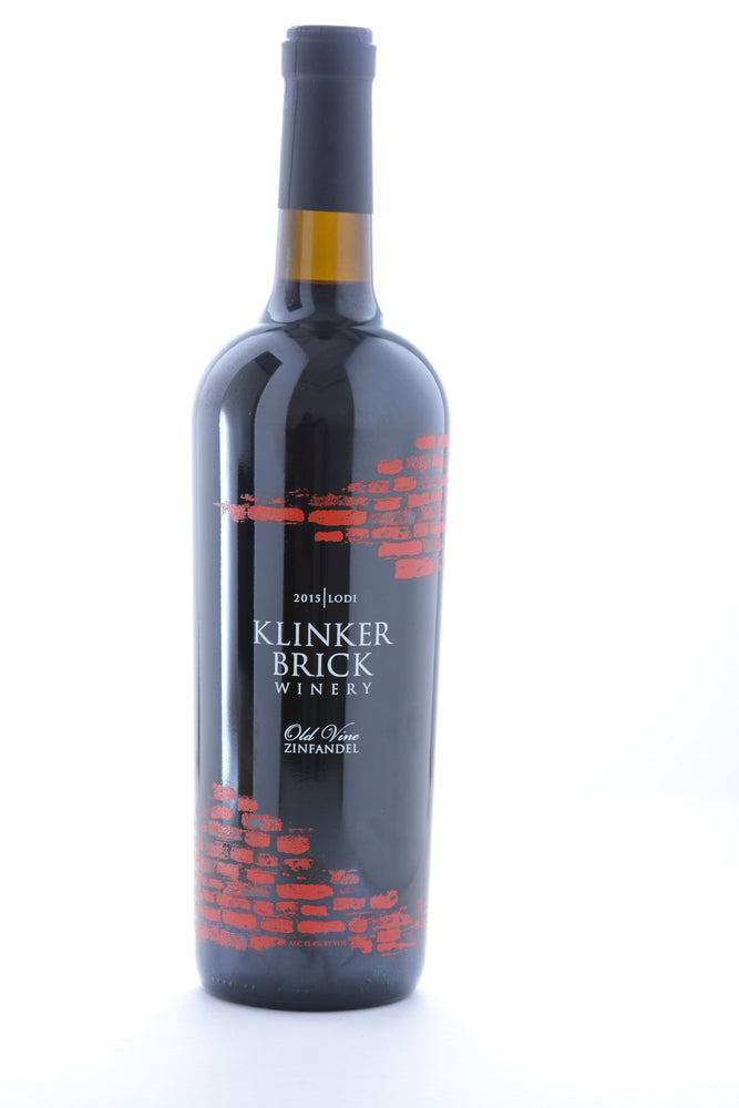 Klinker Brick Old Vine Zinfandel 2015 - 750 ML - Wine on Sale