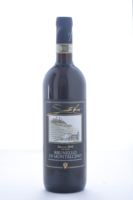 Livio Sassetti Brunello di Montalcino Pertimali Riserva 2012 - 750 ML - Wine on Sale