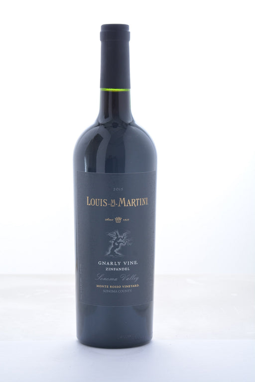 Louis Martini Monte Rosso Gnarly Vine Zinfandel 2015 - 750 ML - Wine on Sale