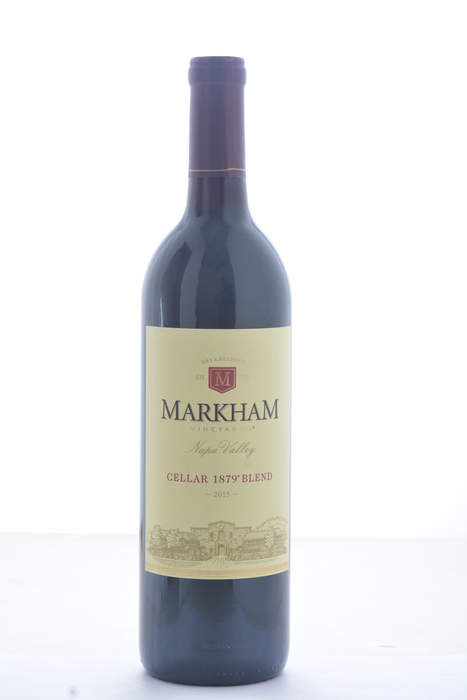 Markham Vineyards Cellar 1879 Napa Valley Red Blend 2015 - 750 ML - Wine on Sale