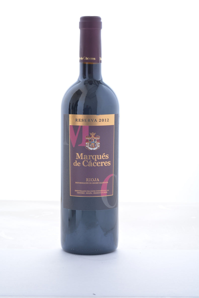 Marques de Caceres Rioja Reserva 2012 - 750 ML - Wine on Sale