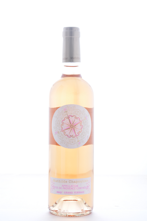 Mathilde Chapoutier Cotes de Provence Rose 2017 - 750 ML - Wine on Sale