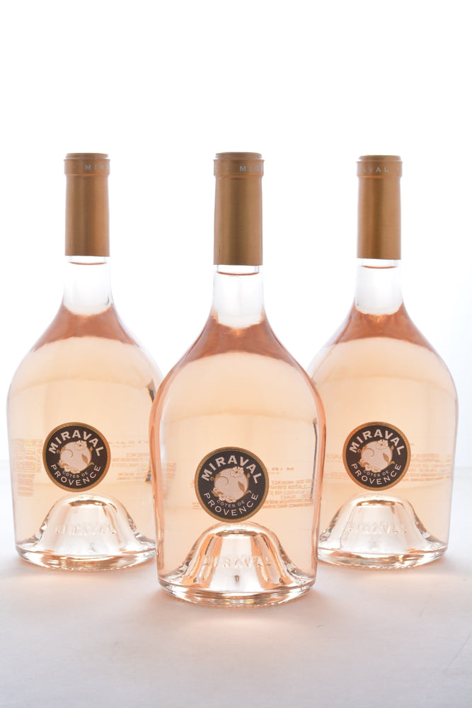 Groupon Miraval Rose Wine Collection - 3 Pack - Brad Pitt & Angelina Jolie Wine - Wine on Sale