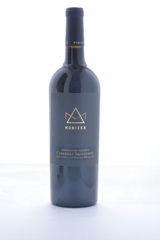 Moniker Mendocino Cabernet Sauvignon 2016 - 750 ML - Wine on Sale
