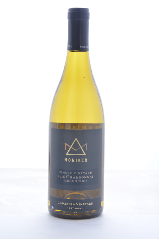 Moniker La Ribera Vineyard Chardonnay 2016 - 750 ML - Wine on Sale
