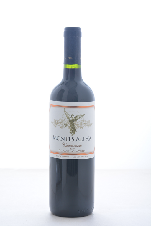 Montes Alpha Series Carmenere 2017 - 750 ML - Wine on Sale