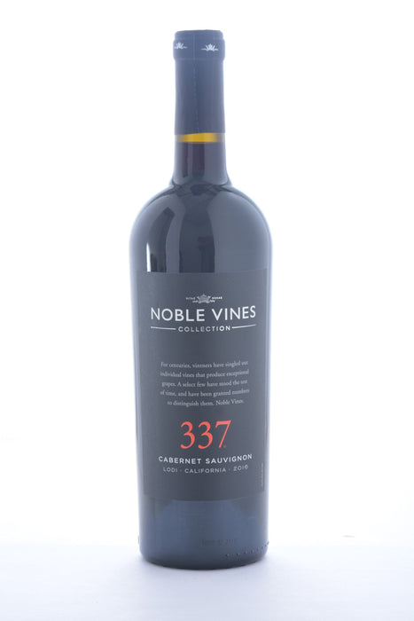 Noble Vines 337 Cabernet Sauvignon Lodi 2016 - 750 ML - Wine on Sale