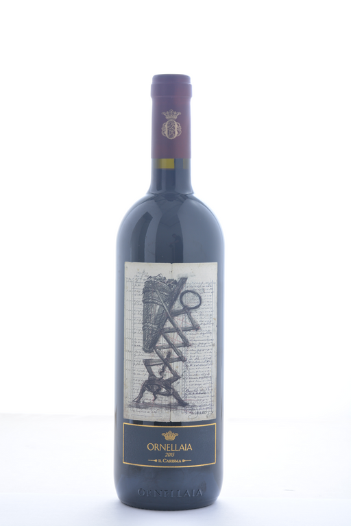 Ornellaia Bolgheri Superiore 'Il Carisma' Special Edition Label 2015 - 750 ML - Wine on Sale