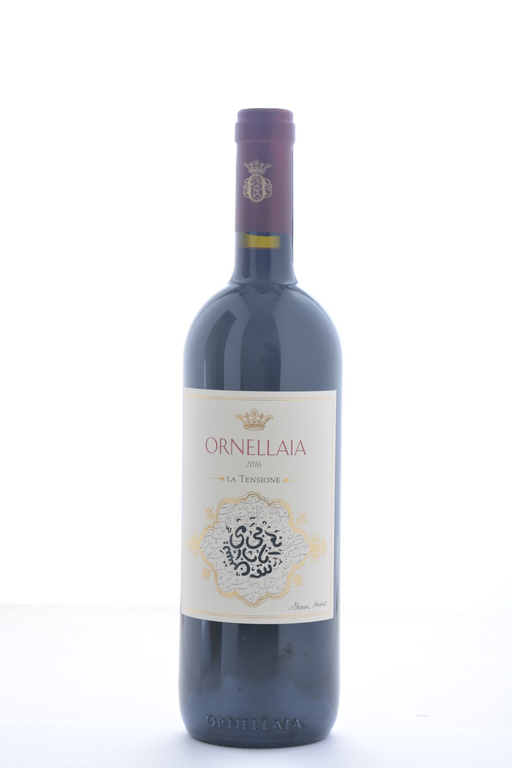 Ornellaia Bolgheri Superiore 'La Tensione' Special Edition Label 2016 - 750 ML - Wine on Sale