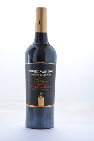 Robert Mondavi Private Selection Cabernet Sauvignon Aged in Bourbon Barrels 2017 - 750 ML - Wine on Sale