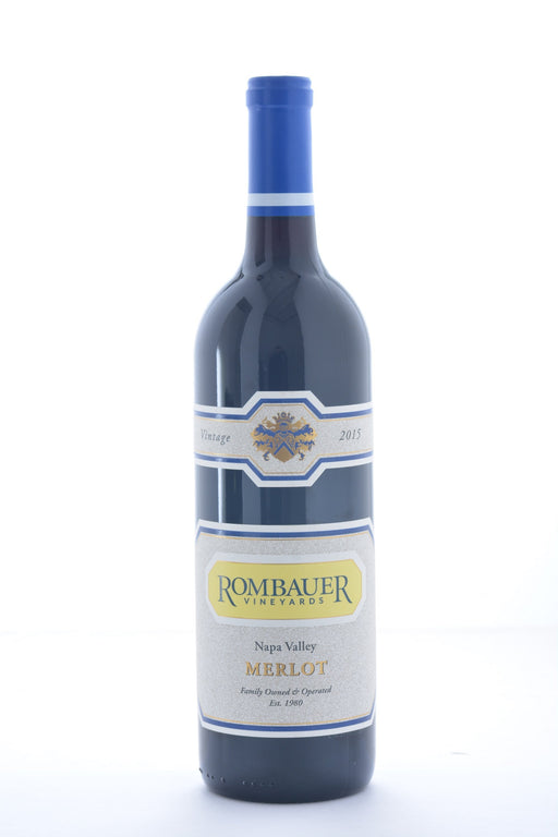 Rombauer Merlot 2015 - 750 ML - Wine on Sale