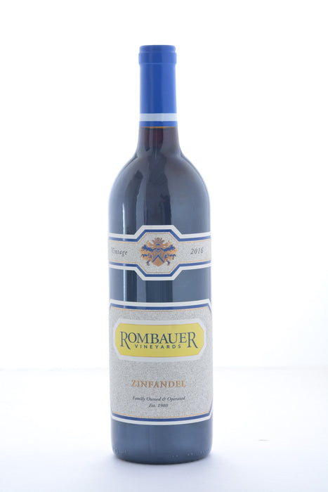 Rombauer Zinfandel 2017 - 750 ML - Wine on Sale