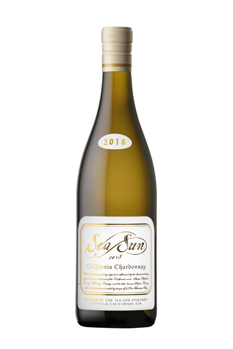Sea Sun California Chardonnay 2018 by Charlie Wagner - 750 ML