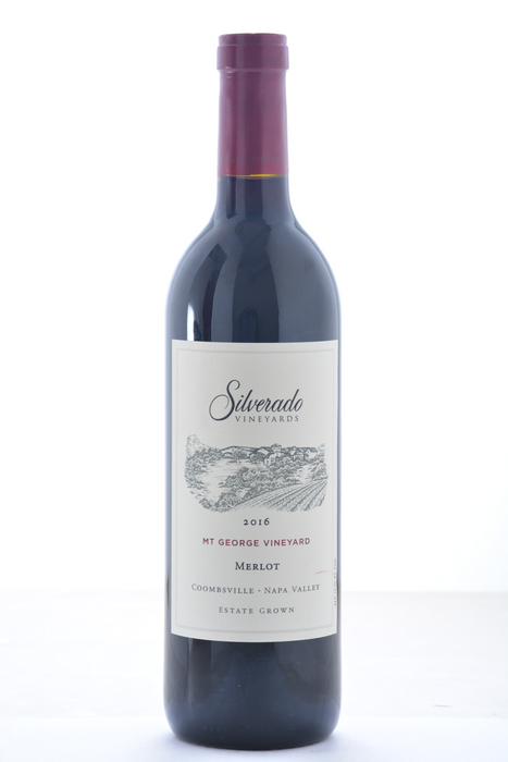 Silverado Mt. George Merlot 2016 - 750 ML - Wine on Sale