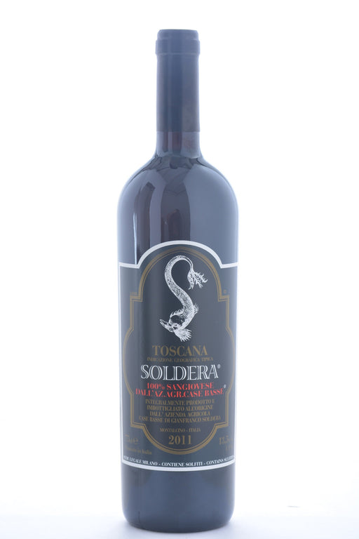Soldera Toscana Sangiovese IGT 2011 Case Basse di Gianfranco - 750 ML