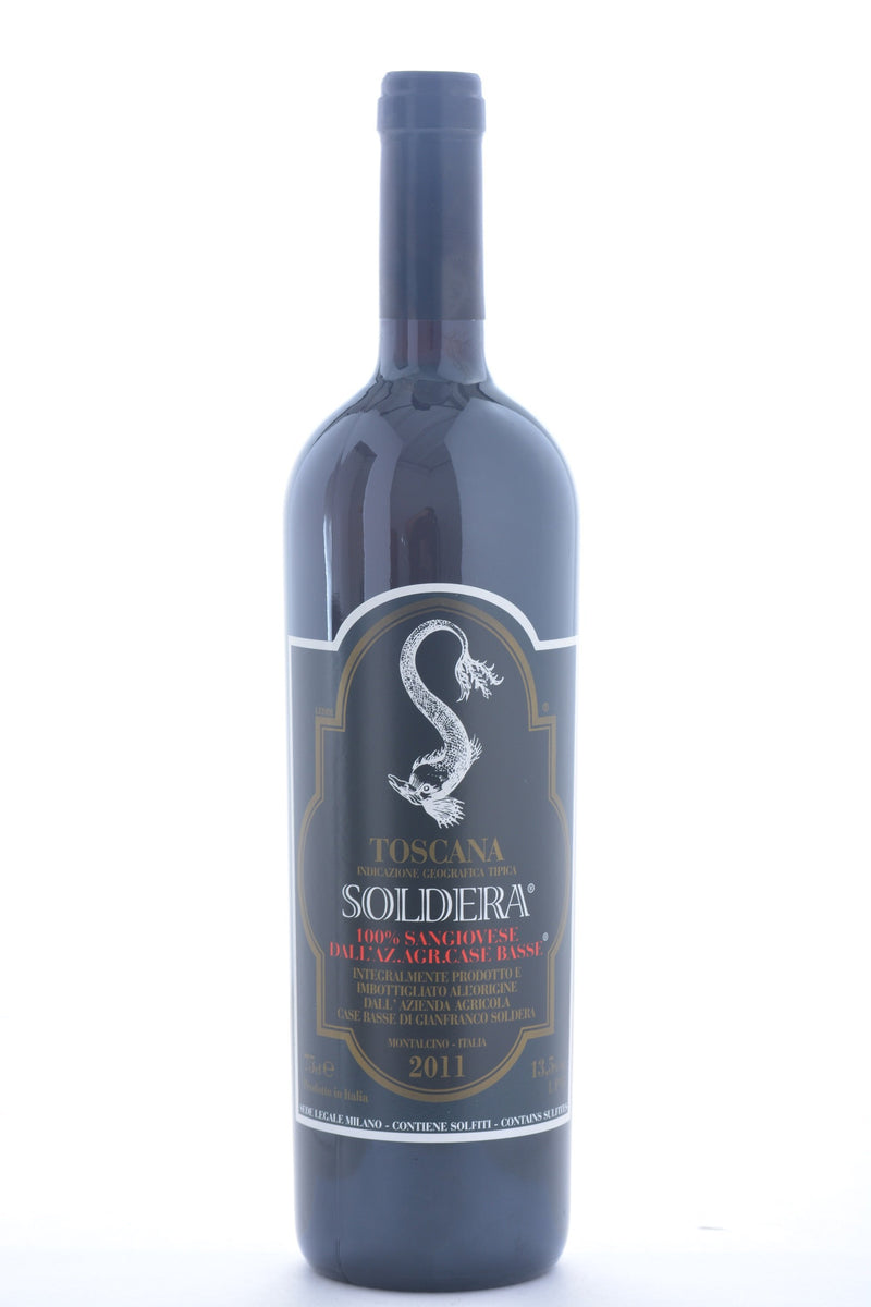 Soldera Toscana Sangiovese IGT 2013 Case Basse di Gianfranco - 750 ML - Wine on Sale