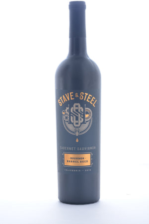 Stave & Steel Bourbon Barrel Aged Cabernet Sauvignon 2016 - 750 ML - Wine on Sale