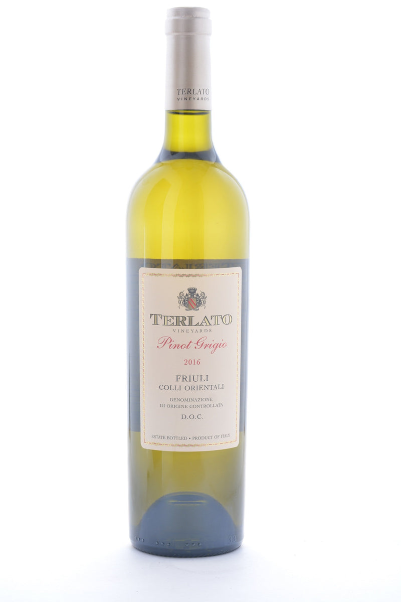 Terlato Family Vineyards Friuli Pinot Grigio 2017 - 750 ML - Wine on Sale